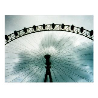 London Eye Millennium Wheel, England Postcard