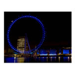 London Eye Night view Postcards