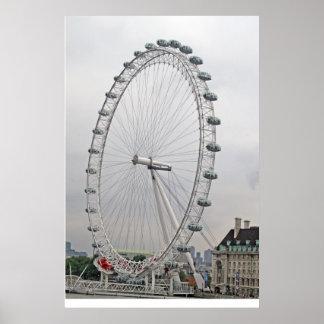 London Eye Print