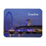 London Eye Rectangular Photo Magnet