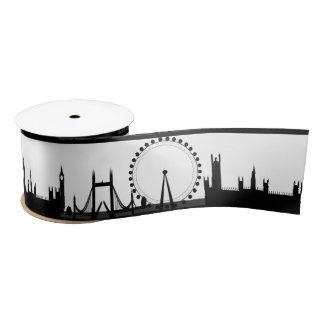 London Eye Ribbon Satin Ribbon