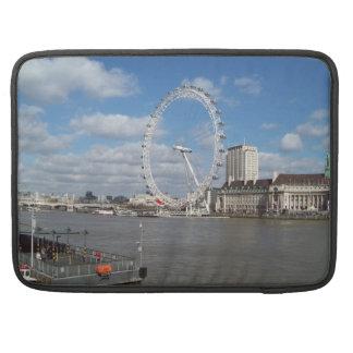London Eye Rickshaw Flap Sleeve Sleeves For MacBook Pro