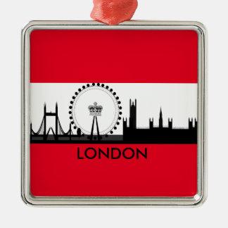 London Eye Skyline, England Christmas Ornament