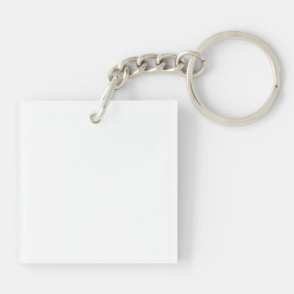 London Eye Square (single-sided) Keychain