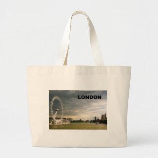 LONDON Eye (St.K) Jumbo Tote Bag