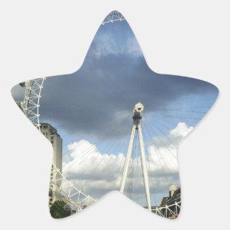 London Eye Star Sticker