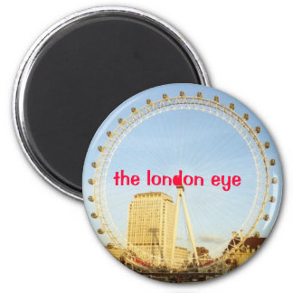 London Eye, ., the london eye Magnet