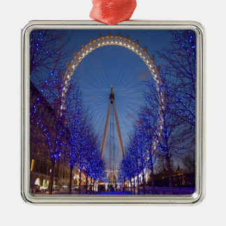 London Eye Twilight Christmas Ornament