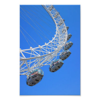 London Eye UK Print Art Photo