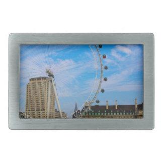 London Eye United Kingdom Belt Buckles