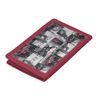 London Flirty Girl pink wallet,purse Trifold Wallet