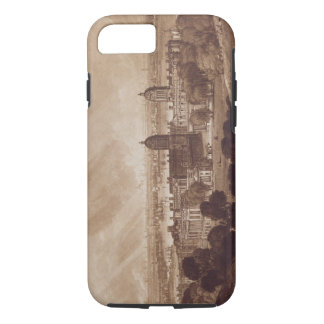 London from Greenwich, engraved by Charles Turner iPhone 7 Case