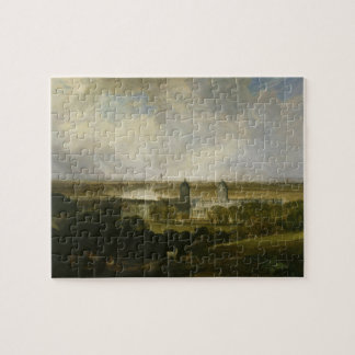 London from Greenwich Park by J M W Turner 1809 Jigsaw Puzzle