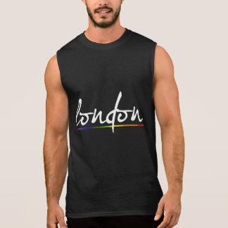 LONDON GAY PRIDE - -.png Sleeveless Shirt