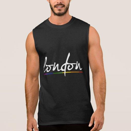 LONDON GAY PRIDE - -.png Sleeveless T-shirts
