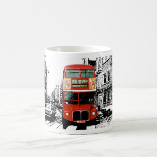 London Gift Mug with Red Bus