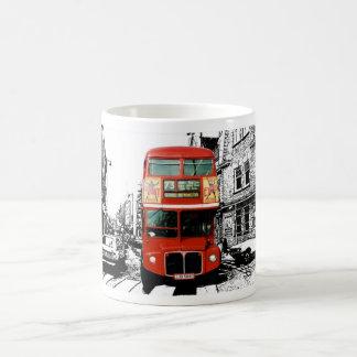 London Gift Mug with Red Bus
