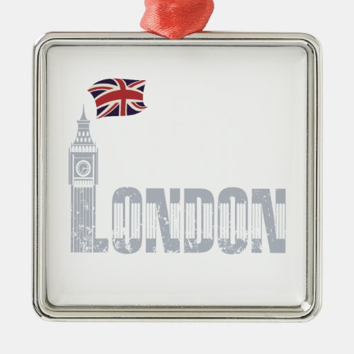 London, Great Britain Christmas Tree Ornaments