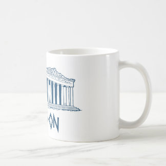 London, Greece Basic White Mug
