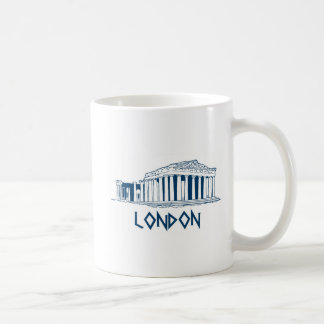 London, Greece Basic White Mug