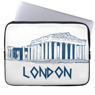 London Greece Computer Sleeve