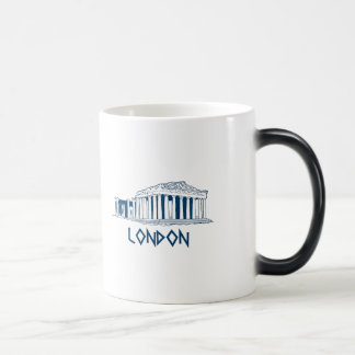 London, Greece Morphing Mug