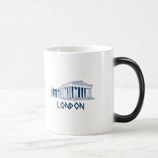 London, Greece Morphing Mug