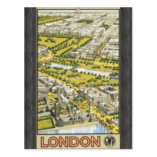 London Gwr, Vintage Postcard