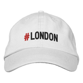 #LONDON Hashtag London Cap/hat Embroidered Hat