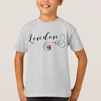 London Heart Tee Shirt, Great Britain