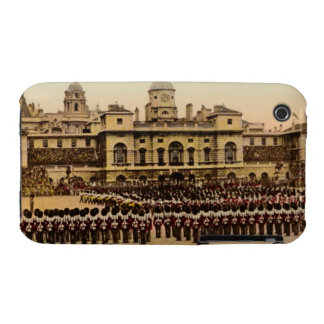London Horse Guard Retro Postcard iPhone 3 Case