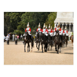 London,  Household Cavalry, Changing the Guard Postcard