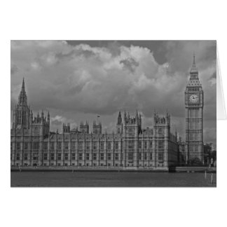 London Houses of Parliament & Big Ben Greeting Card