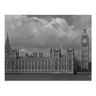 London Houses of Parliament & Big Ben Postcard