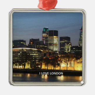 London: I Love London Christmas Ornament
