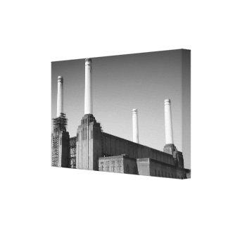 London icon Battersea canvas Canvas Print