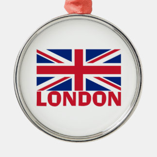 London in Red Christmas Ornament
