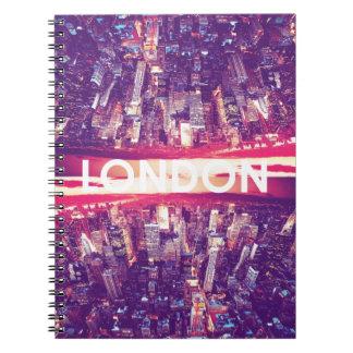 London in Sky Notebook