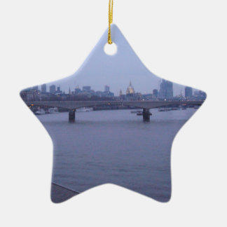 London In Winter Christmas Ornament