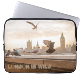 London is Wild laptop case Computer Sleeves