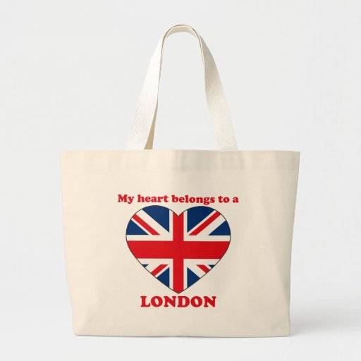 London Jumbo Tote Bag