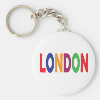 London Keychain