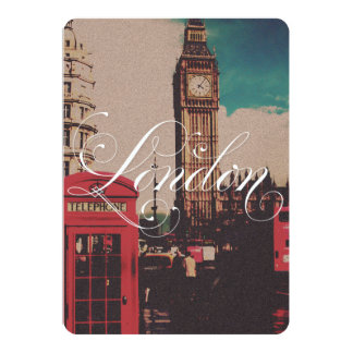 London Landmark Vintage Photo Card