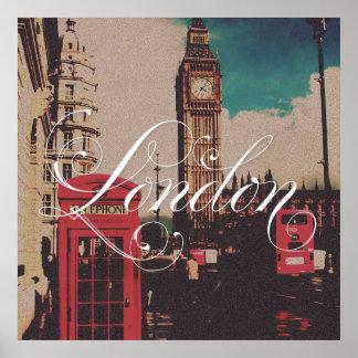 London Landmark Vintage Photo Print