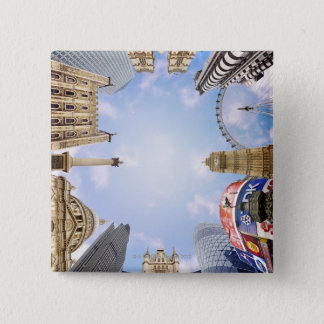 London Landmarks 15 Cm Square Badge