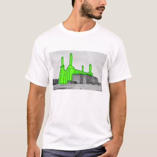 London Landmarks - Battersea Power Station T-Shirt