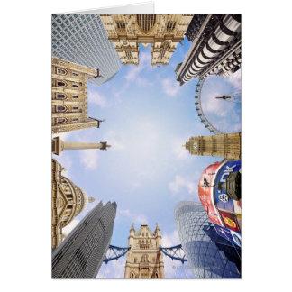London Landmarks Card