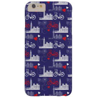 London Landmarks Pattern Barely There iPhone 6 Plus Case