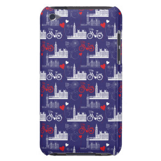 London Landmarks Pattern Barely There iPod Covers