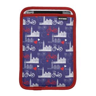 London Landmarks Pattern iPad Mini Sleeve